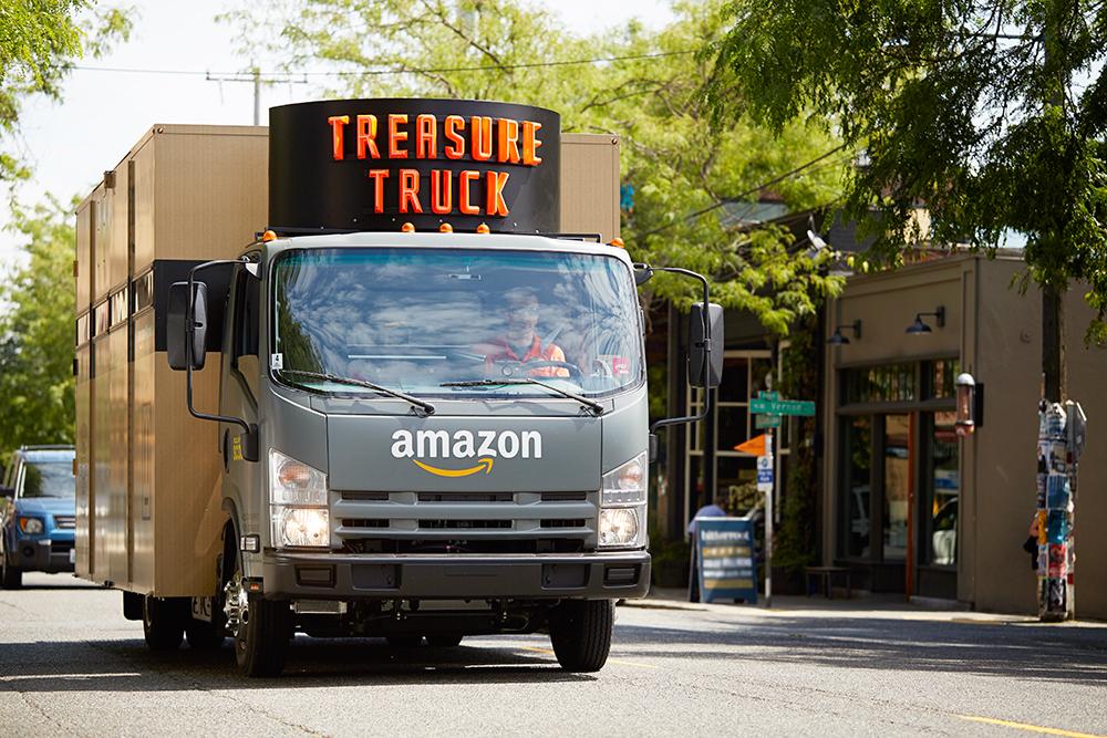 Amazon Treasure Truck