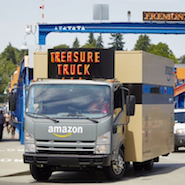 Amazon Treasure Truck - de brug tussen online en retail